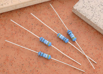 1 2 Watt 1 Metal Film Resistor Kit Qty 500 61 Sizes