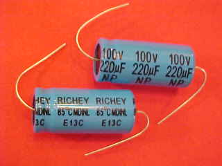 High Voltage Electrolytic And Film Capacitors For Tube Radios