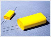 Set of 4 Capacitors Styroflex Very High Voltage 30 000V